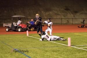player 63 football santana vs. Castle park